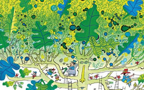 illustratie-de-werelden-van-sieb-posthuma-een-vijver-vol-inkt-de-gulle-ekster